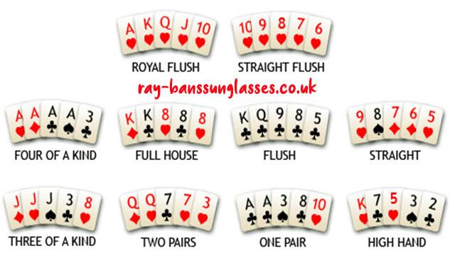 Kombinasi - Kombinasi Permainan Kartu Poker Online Uang Asli